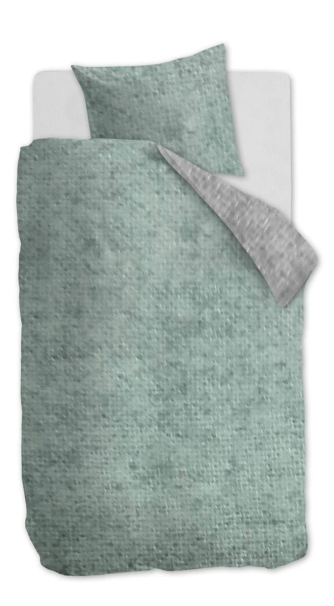 Beddinghouse Kids Flanell Bettwäsche 4 teilig Bettbezug 135 x 200 cm Kopfkissenbezug 80 x 80 cm Boet 176577 Grün