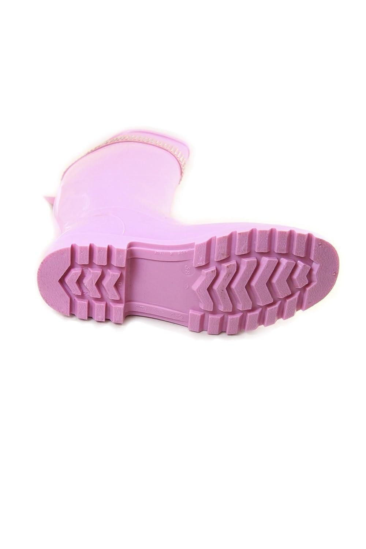 FIXDESIGN, Damen Multicolore Stiefel & Stiefeletten  Mehrfarbig Multicolore Damen Pink ca56a1