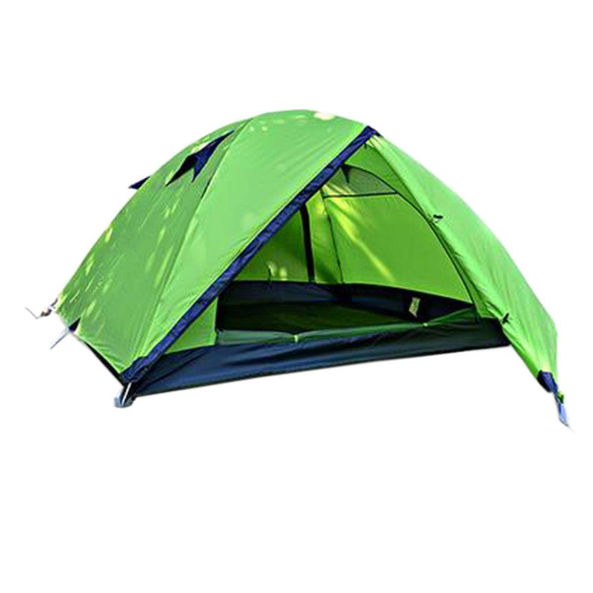 TZQ Anti-Regen Outdoor Multiplayer Campingzelte,Grün