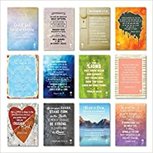 "Seeds Family Worship - Seeds of Courage Bible Memory Cards - Companion to ""Seeds of Courage"" CD - 5 x 7 Frameable (Set of 12)"