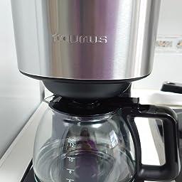 taurus Cafetera Goteo Verona 12, 680 W, Cups, plástico, Negro ...