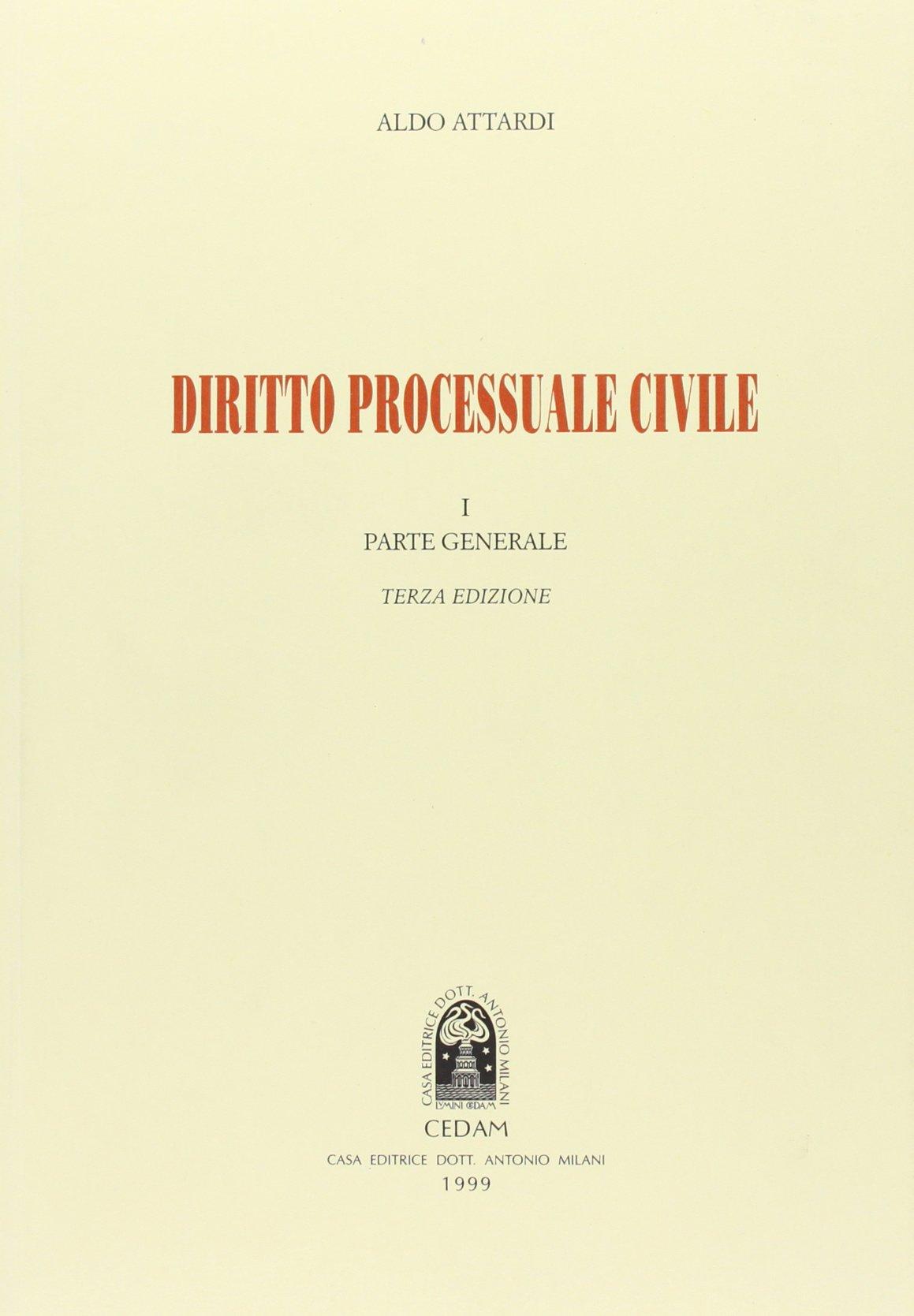 Diritto processuale civile - Attardi, Aldo - Libri