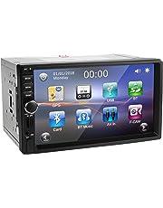 Autoradio 2 Din, amkle Autoradio Bluetooth GPS Écran Tactile 7 '' HD - Navigation avec Caméra de Recul/Aux/Micro SD/USB - Autoradio RDS AM/FM - Multimédia Player - Stéréo - Contrôle au Volant