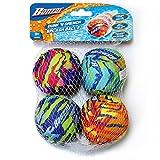 Banzai Dunk 'N Drench Splash Balls Pool Toy - 4 Pack