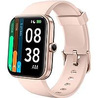 YONMIG Smart horloge met Hartslagmeter Sport Modes Fitness Tracker 5ATM Waterdichte Activiteit Tracker voor Kids Mannen…