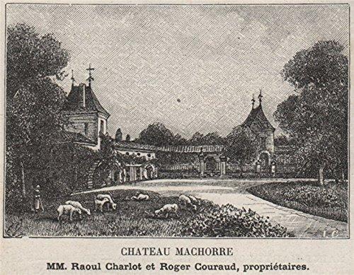 entre-deux-mers-saint-martin-de-sescas-chateau-machorre-courauds-small-1908-old-print-antique-print-