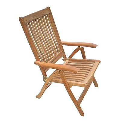 Royal Teak ESFC Estate 23 1/2 Folding Chair With Arms