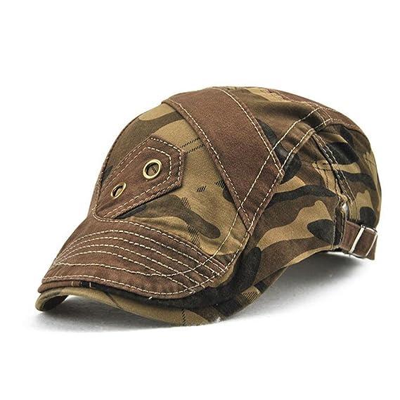 Impression 1 PCS Boinas Ocio Retro Hat Gorra de Golf Sombrero de Sol Boina  de Moda 8b6ee86d6d0