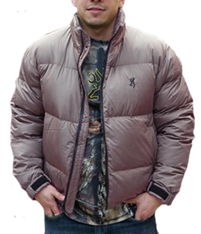 Browning 650 Goose Down Tan Jacket at Amazon Men's Clothing store: