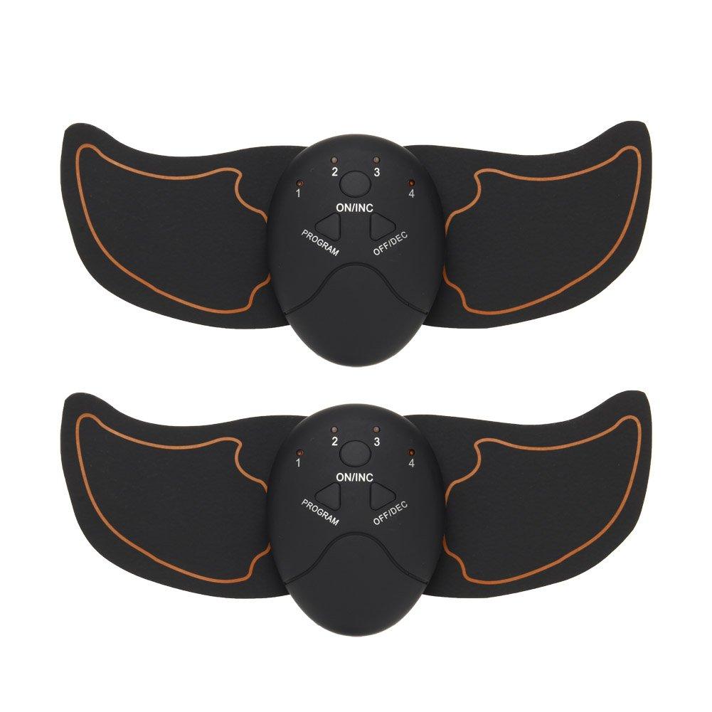 Crewell Sport ABS ems estimulador muscular cintura entrenamiento cuerpo abdominal m/úsculo ejercicio adelgazamiento masajeador m/áquina