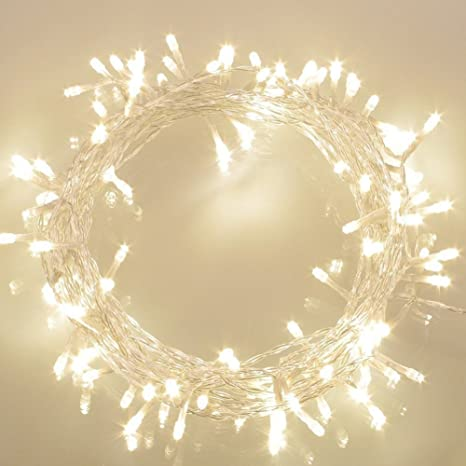 Universal Needs Weihnachtsbeleuchtung.Fairy Lights Battery Operated 100 Led Outdoor W Timer 8 Modes Ip65 Waterproof Warm White