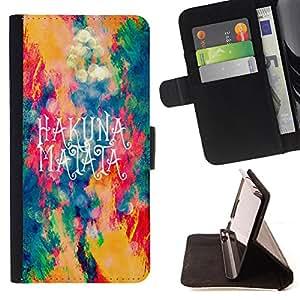 - Space Art - - Caja de la carpeta del tirš®n del cuero de la PU [con ranuras para tarjetas y cierre de solapa magnšŠtica] Pš¢rese cubierta de la caja FOR Samsung Galaxy S6 G9200 Skull Market