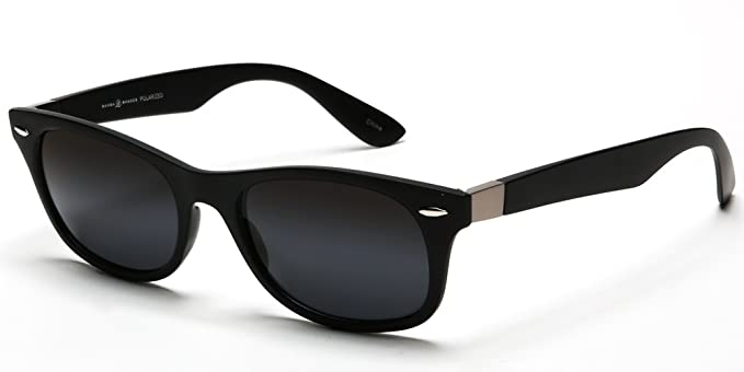 35a4fa1af7 Samba Shades New Classic Inspired Designer Polarized Sunglasses with Black  Break Resistant TR90