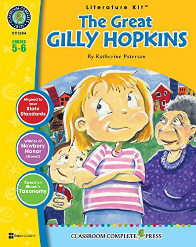 The Great Gilly Hopkins LITERATURE KIT