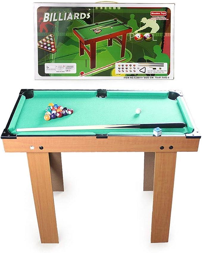 Billar Snooker Plegable For Adultos Tabla niños Mini-Piscina de Billar de Mesa Juguete for Home Office Desk Gaming Juguete de Billar Mesa de Escritorio en Miniatura Piscina Juego de Mesa Los niños