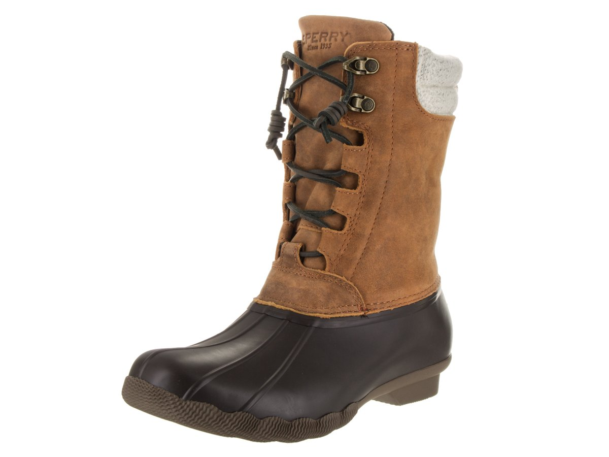 Sperry Womens Saltwater Misty Waterproof Duck Boots B01MT05MDD 8 B(M) US|Misty Brown