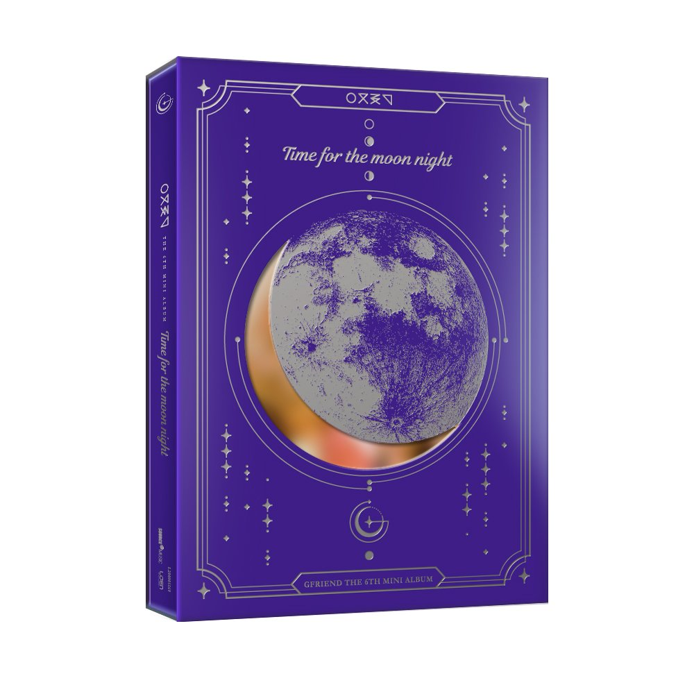 CD : Gfriend - Time For Moon Night (night Version) (Asia - Import)