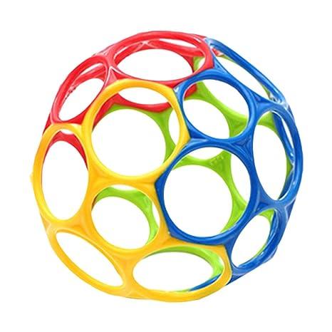Pelota de mano sonajero para bebé, multicolor, juguete de bola de ...