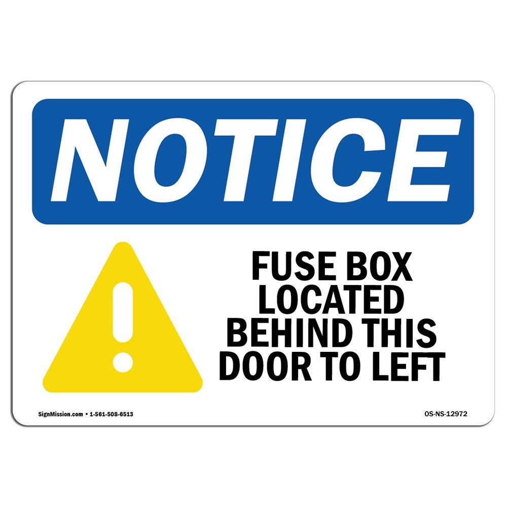 OSHA通知サイン| Heavy Duty Signまたはラベル 24