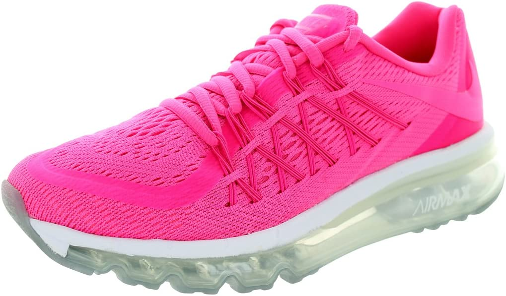 Nike Air MAX 2015 (GS) Schuhe Pink Power-Pink Power-Vivid Pink-White - 36,5: Amazon.es: Deportes y aire libre