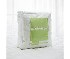 Bamboo Removable Pillow Top Mattress Pad