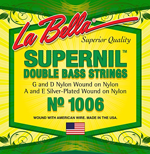 LaBella 1006 La Bella Nyl Bass Strg (Orchestra Bass Strings)