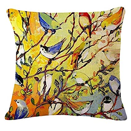 Amazon.com: Hugh Harrod Modern Home Decorative Throw Pillows ...