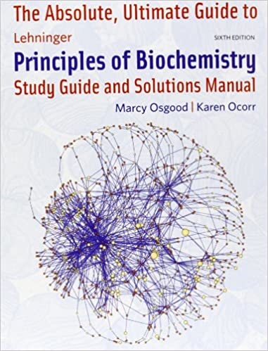 Principles of biochemistry study guide solutions manual [news].