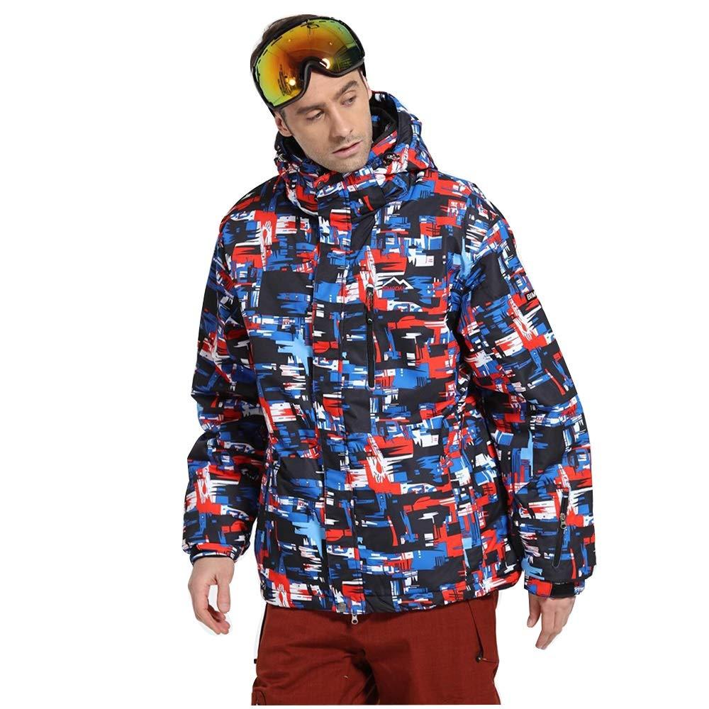 スキーウェア スキー防寒防風スノースーツシングルおよびダブルボード 理想的なスキー服 (サイズ : XXXL)  XXXL