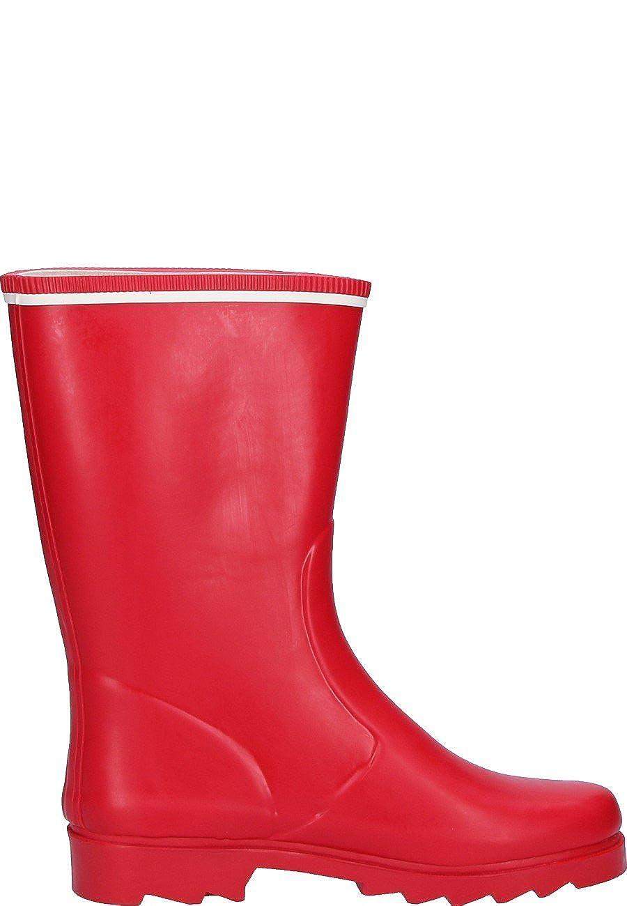 Aigle , Bottes en Caoutchouc Femme Rouge Rot, 39 EU