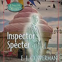 Inspector Specter Audiobook by E.J. Copperman Narrated by Amanda Ronconi