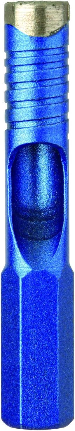 Diager /Ø mm.6 totale mm.55 Long Long Foret diamant special carrelage ceramique blue ceram utile mm.22