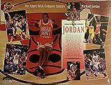 1994 Upper Deck Salutes MICHAEL JORDAN 8.5X11