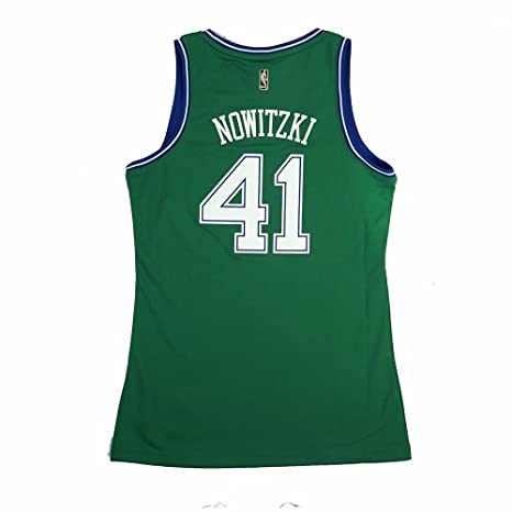 adidas Dirk Nowitzki Dallas Mavericks NBA Green Ufficiale