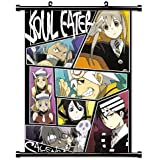 "Soul Eater Anime Fabric Wall Scroll Poster (16"" X 22"") Inches"