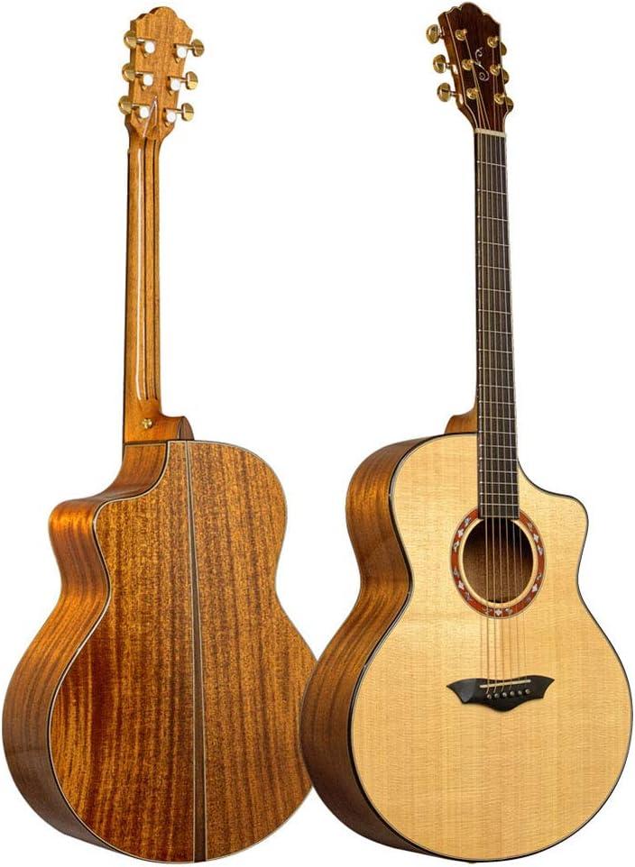 NUYI Las Últimas 41 Pulgadas De Gama Alta Exquisita Guitarra Acústica
