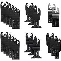 Daytesy 21 st sågblad – 21 st multifunktion bi-metall precisionssågblad svängande multiverktyg sågblad