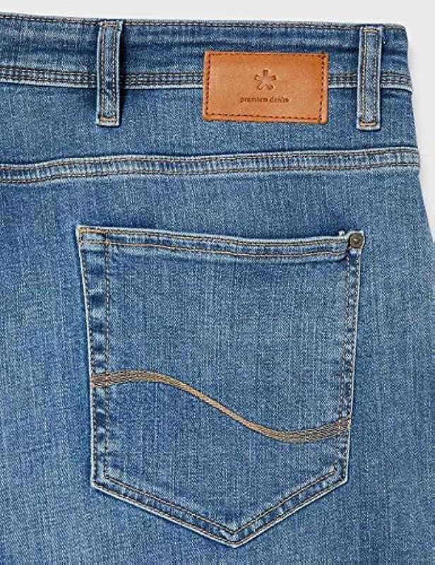 Celio Męskie ROBLEACH15 Jeans, Bleached, 48W/34L: Odzież
