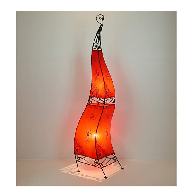 Marrakesch lámpara de pie Henna Ibis h150 Rojo: Amazon.es ...
