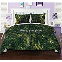 Mandala Duvet Cover Set Cotton Queen Printed Tie Dye Elephant Green Quilt Cover By Stylo Culture