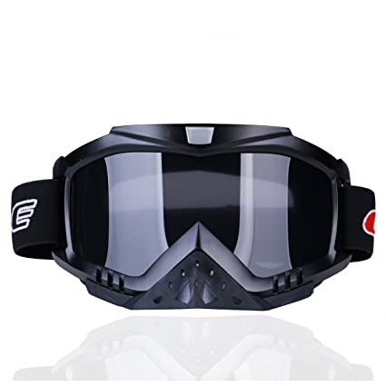4dee1b306cca Image Unavailable. Image not available for. Color  CHCYCLE Motorcycle  motocross goggles ...