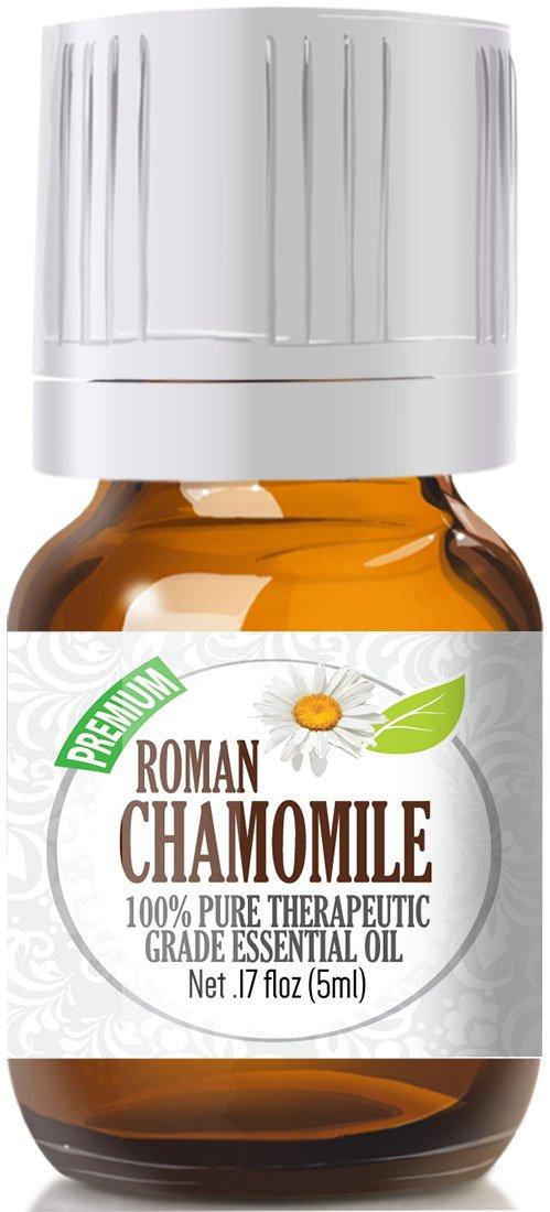 Roman Chamomile Essential Oil - 100% Pure Essential Oil, Best Therapeutic Grade - 5ml essential oils for babies Essential oils for babies – sleep-inducing essential oils 61M IR7lTWL