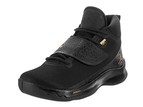 03526211ad429e Nike Jordan Men s Jordan Super.Fly 5 PO Black Metallic Gold Black  Basketball Shoe 11 Men US  Amazon.ca  Shoes   Handbags