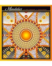 Mandalas by Clare Goodwin 2018 Wall Calendar