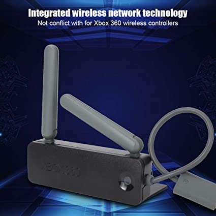 Wendry Adaptador inalámbrico de Tarjeta WiFi, Antena Dual USB inalámbrico WiFi Adaptador de Tarjeta de Red de Doble Banda para Consola de Juegos Xbox ...