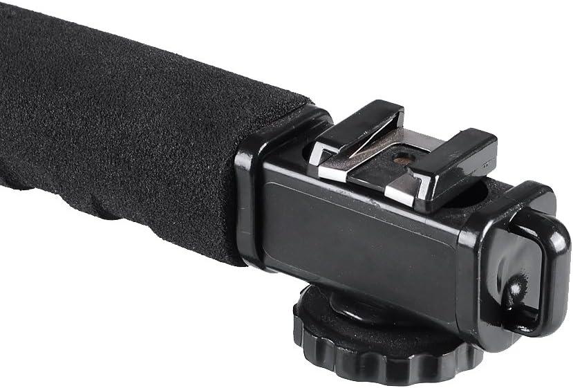 DSLR Camera GoPro Hakutatz C Shape U Shape Professional Versatile Video Action Stabilizing Handle Bracket with Hot Shoe Mount for DV Camcorder Flash and Microphone iPhone LED Light
