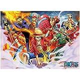 One Piece Anime 1000p Jigsaw Puzzle Each Crew's Ability, Collection Oda Eichiro Haksan 1758 Hobby Home Decoration DIY