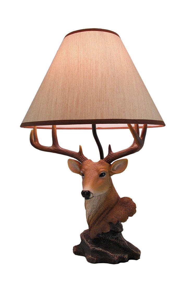 ih casa décor Dexter The Deer Lamp, 20'', Brown