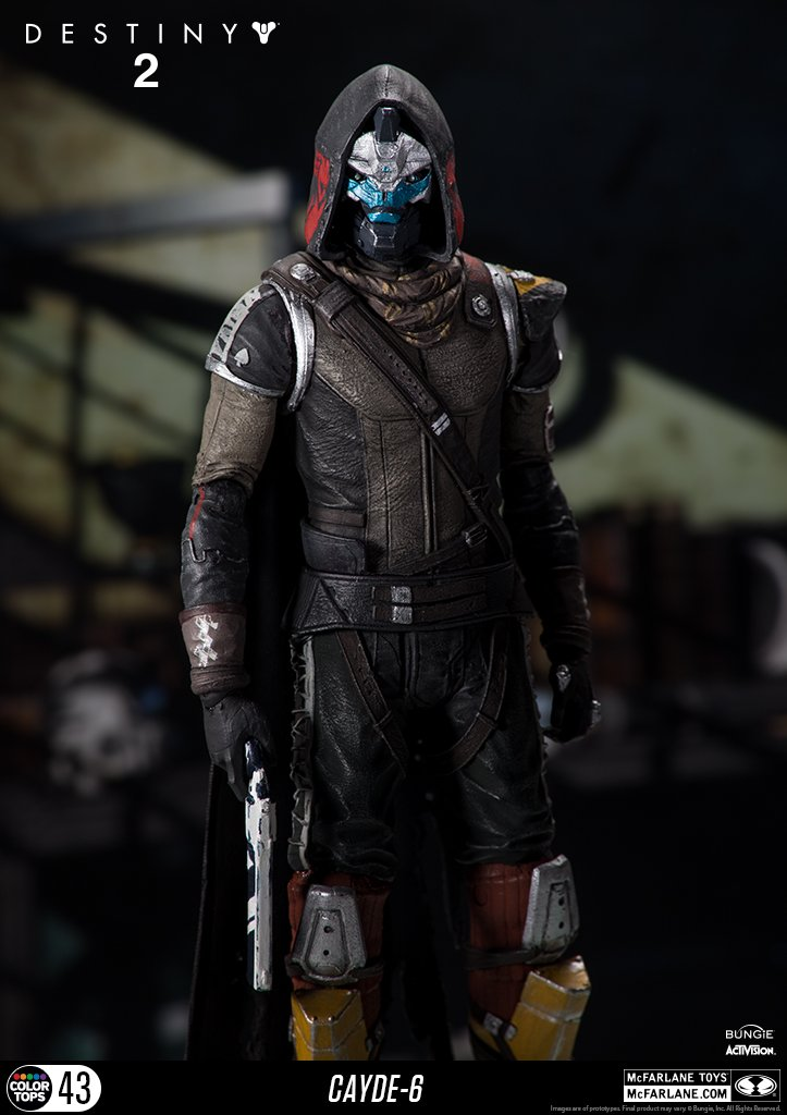 McFarlane Toys 13040-9 Destiny 2 Cayde 6 Collectible Action Figure by McFarlane Toys (Image #3)