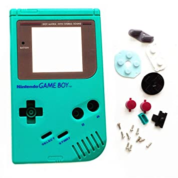 FidgetKute - Carcasa para Nintendo Game Boy, Color Verde ...